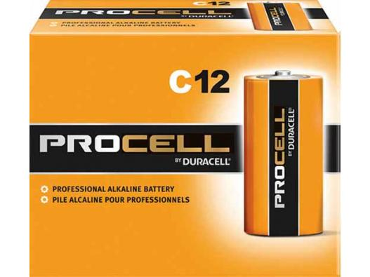 Duracell C12 Procell Professional Alkaline Battery 12-Count