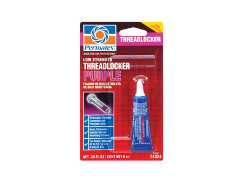 Low Strength Threadlocker PURPLE
