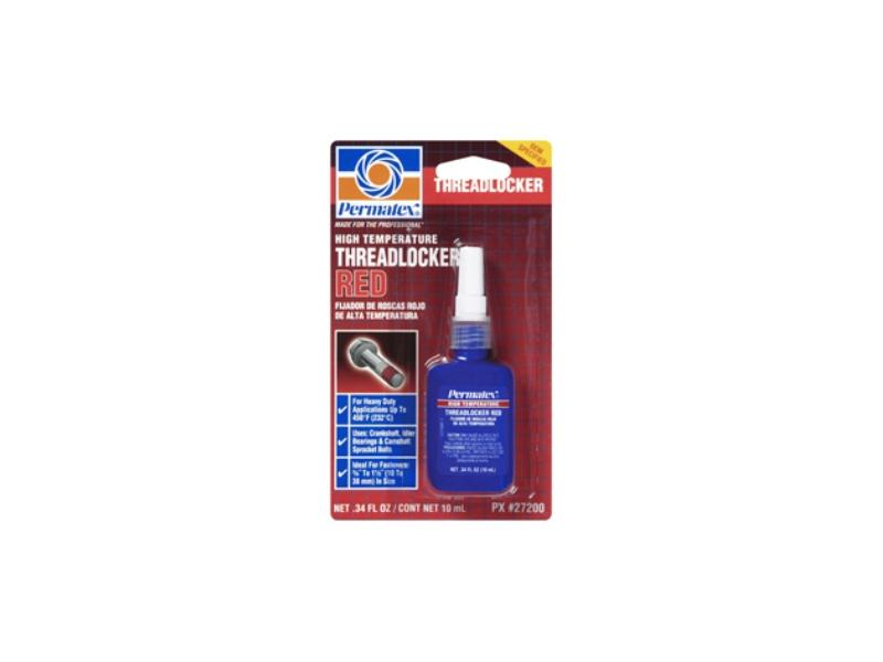 High Temperature Threadlocker RED, 10ml